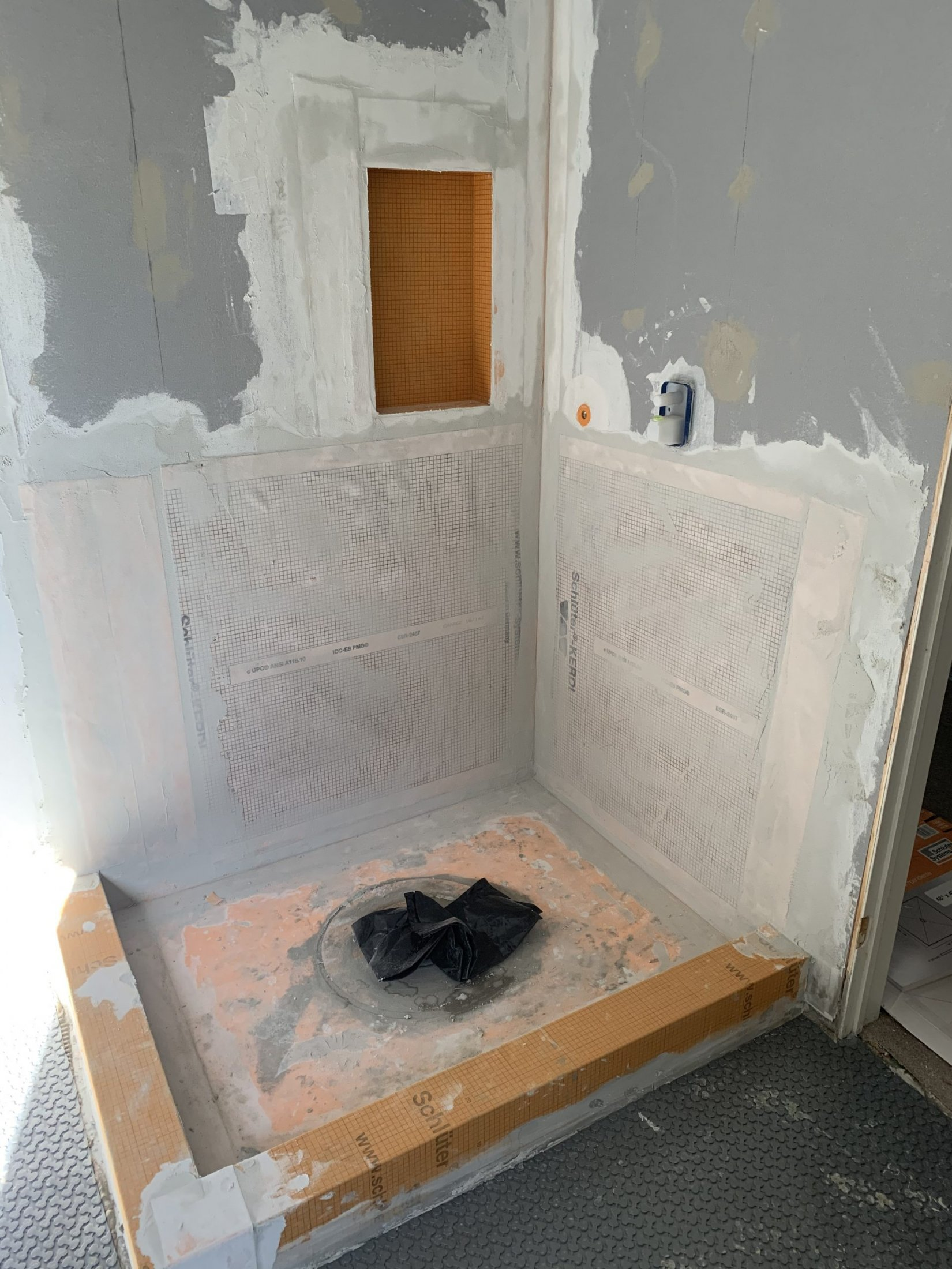 Shower Stall Remodel