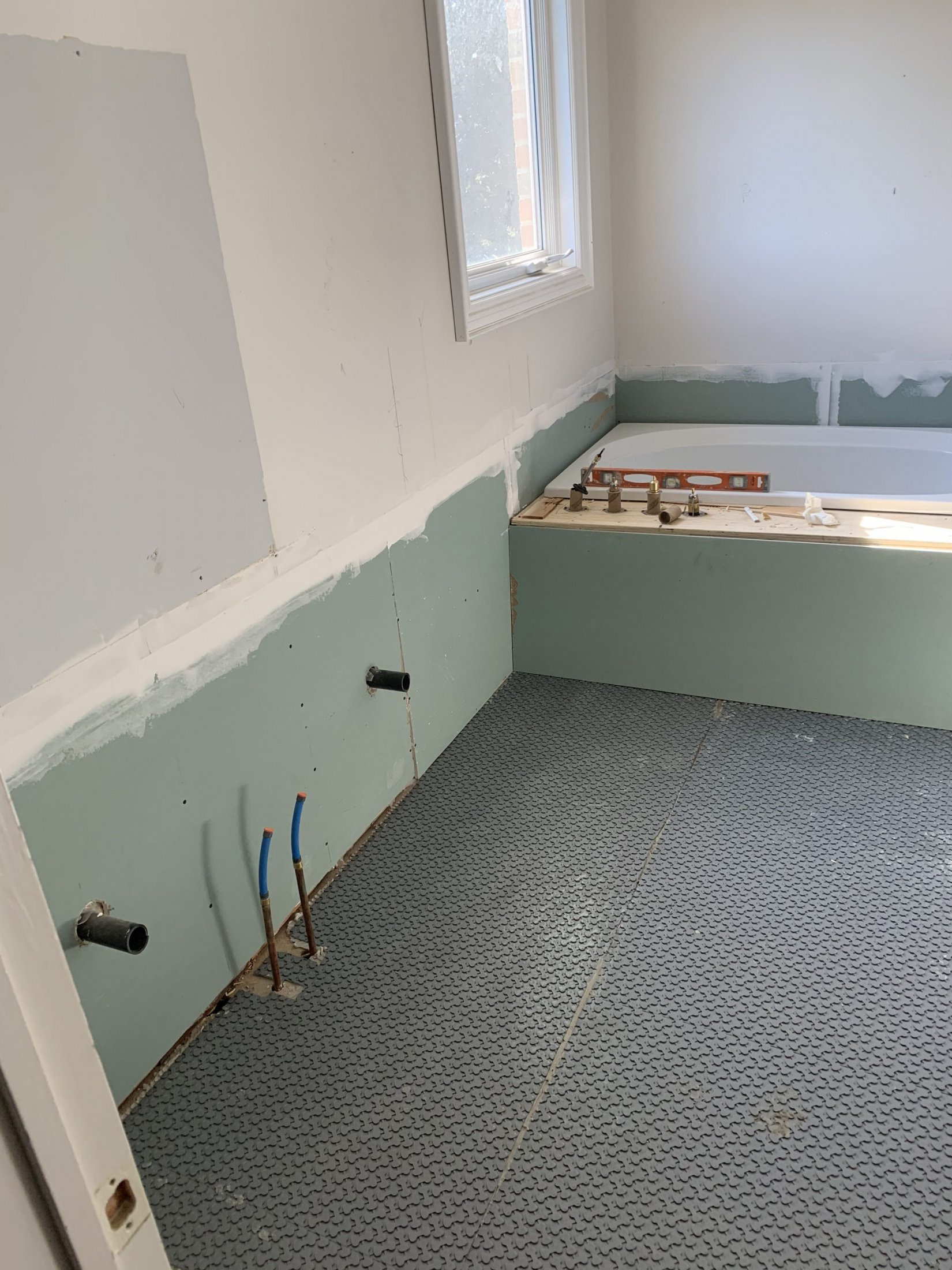 Bathroom Suite Rough-in