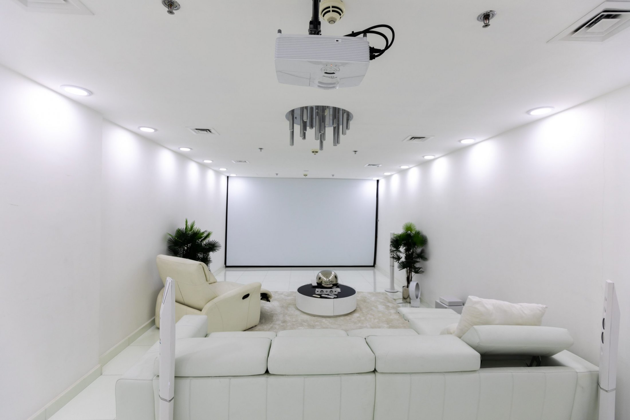 Projection Room - Basement