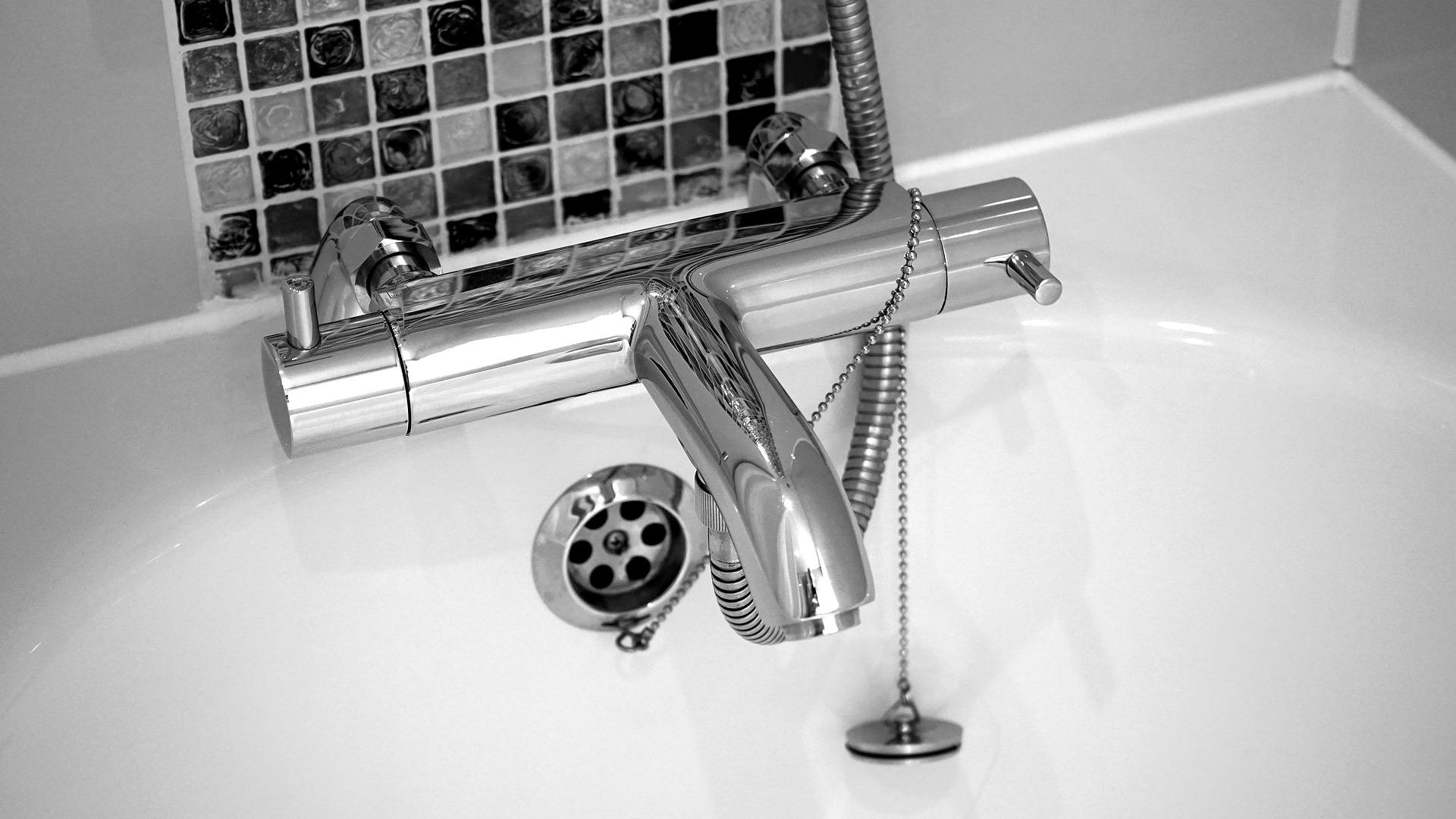 Modern Bath Tap